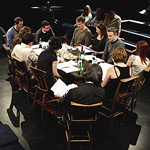 Rehearsed reading of George Munro's Gay Landscape, part of Staging the Nation (photo by Eoin Carey)