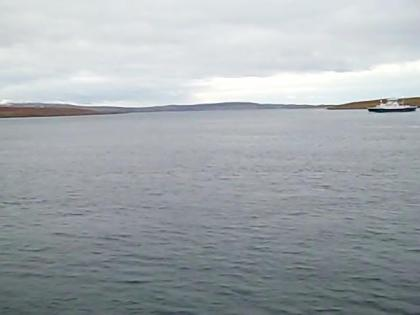 A picture from the Mainland-Unst Ferry.